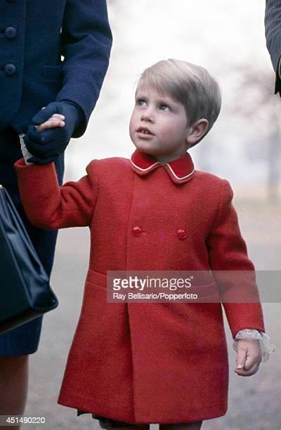 Prince Edward in Richmond Park London on 29th February 1968