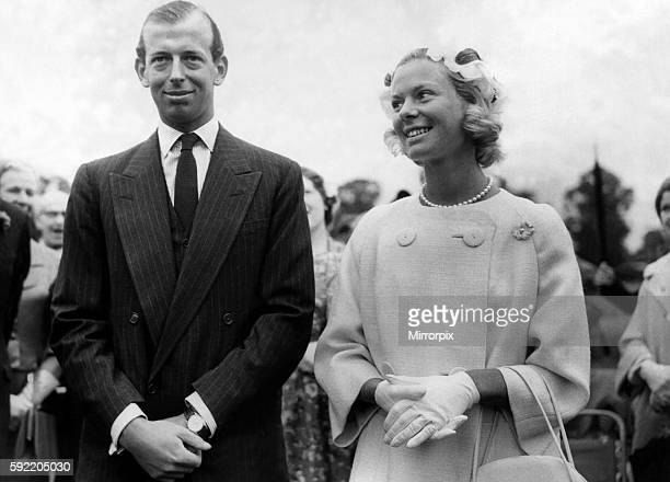 Prince Edward of Kent The Duke of Kent The Duke and Duchess of Kent general picture with unknown details 7 December 1963 circa