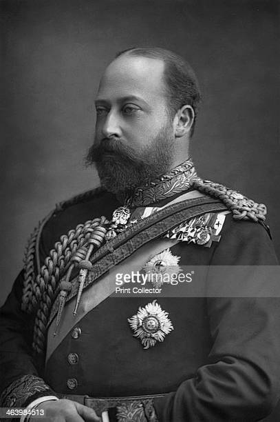 Prince Edward of Wales, the future King Edward VII of Great Britain and Ireland , 1890. Edward VII was King of Great Britain between 1901 and 1910....