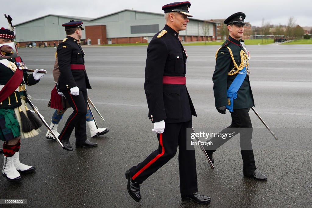 Prince Edward Attends The Army Foundation College Graduation Parade In Harrogate : News Photo