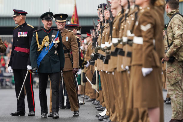 GBR: Prince Edward Attends The Army Foundation College Graduation Parade In Harrogate