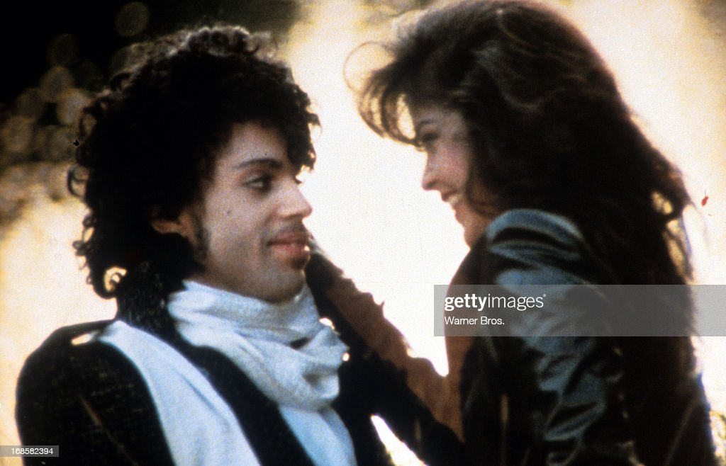 Prince And Apollonia Kotero In 'Purple Rain'
