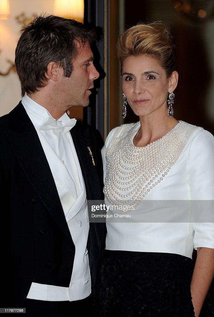 Monaco Royal Wedding - Dinner and Fireworks : Nieuwsfoto's