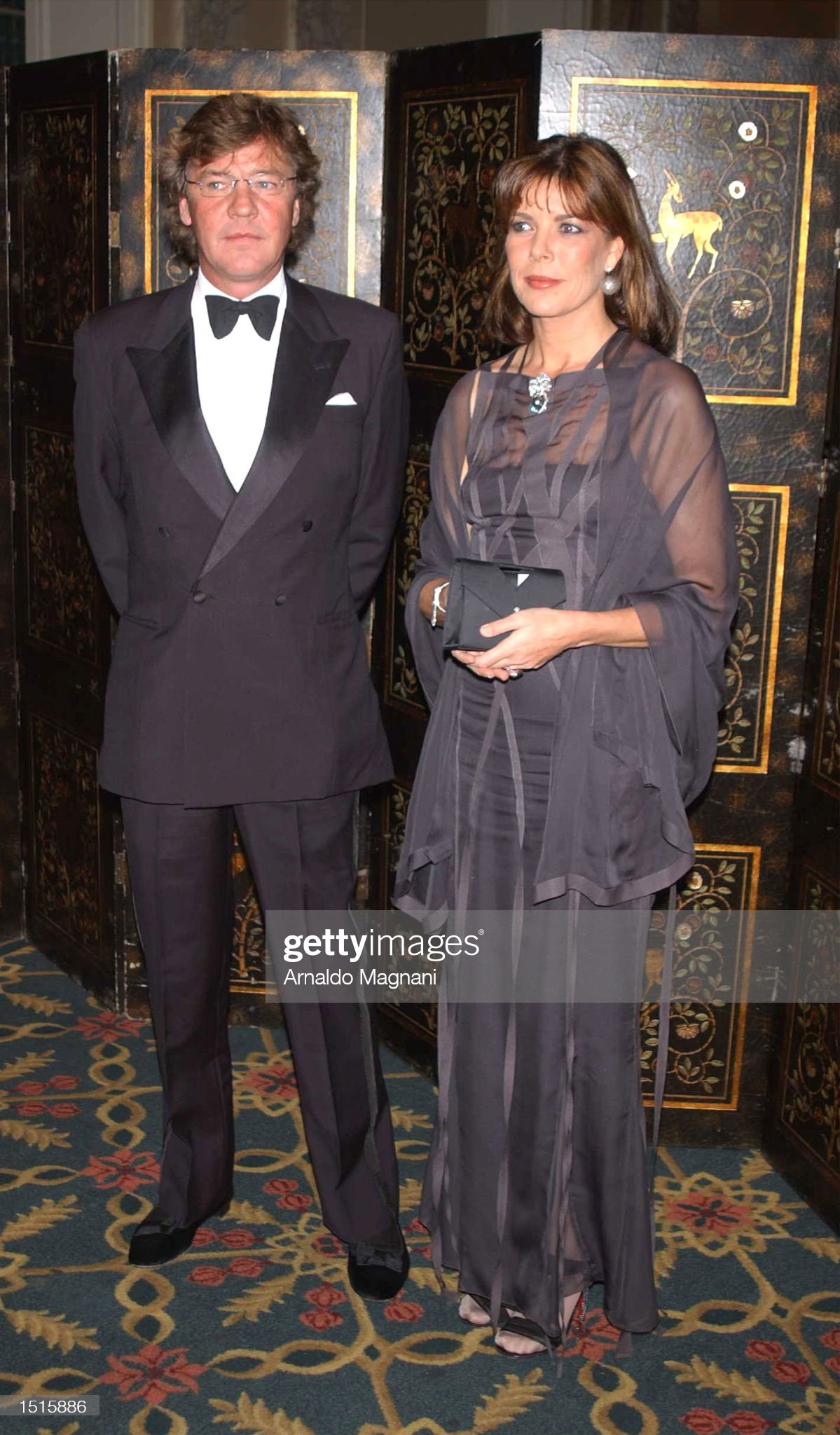 Princess Caroline and Prince Ernst at 20th Annual Princess Grace Foundation Awards : News Photo