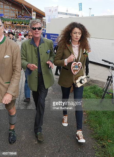 Prince Ernst August of Hanover and Simona sighted during Oktoberfest at Theresienwiese on September 20 2014 in Munich Germany
