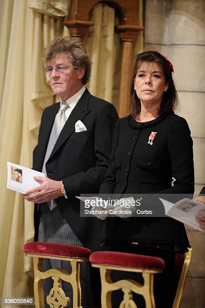 HRH Prince Ernst August of Hanover HRH Princess Caroline of Hanover