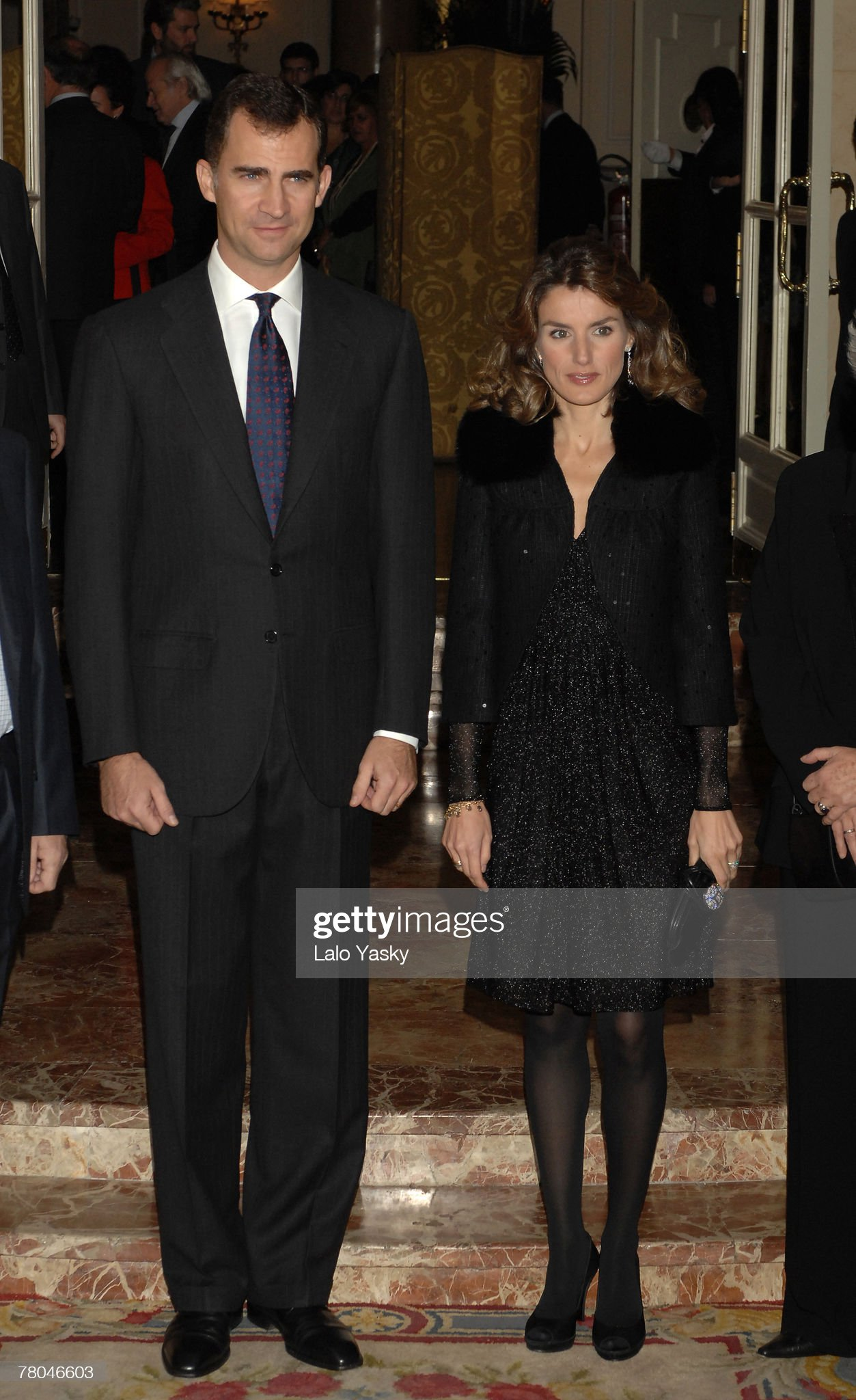 Prince Felipe and Princess Letizia Attend Journalism Award Dinner : News Photo