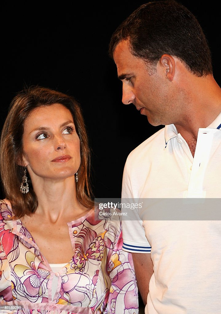 Spanish Royals Attend 27th Copa del Rey Mapfre Audi Sailing Cup Awards : News Photo