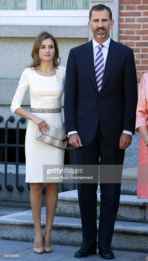 Spanish Royals Meet King Willem-Alexander and Queen Maxima Of The Netherlands : News Photo