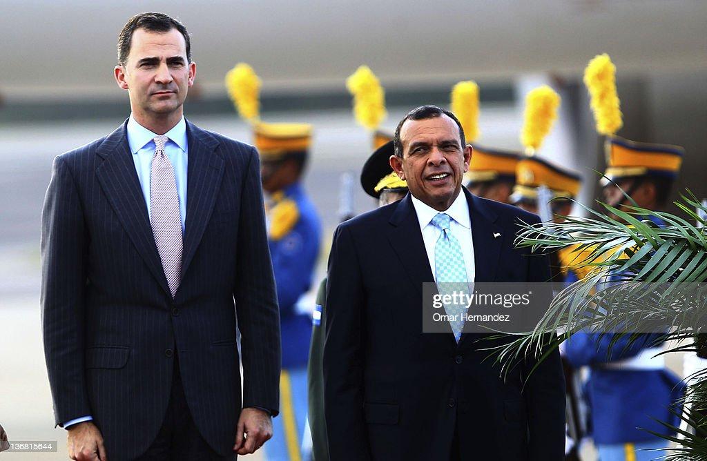 Prince Felipe Visits Honduras