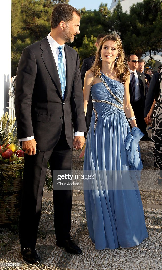Wedding of Prince Nikolaos and Miss Tatiana Blatnik - Wedding Service : News Photo