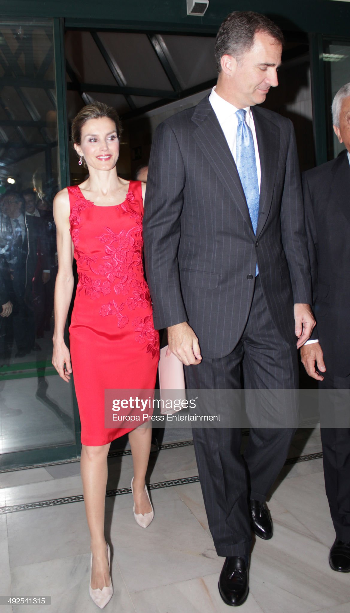 Spanish Royals Attend Dinner With Businesmen In Sevilla : News Photo