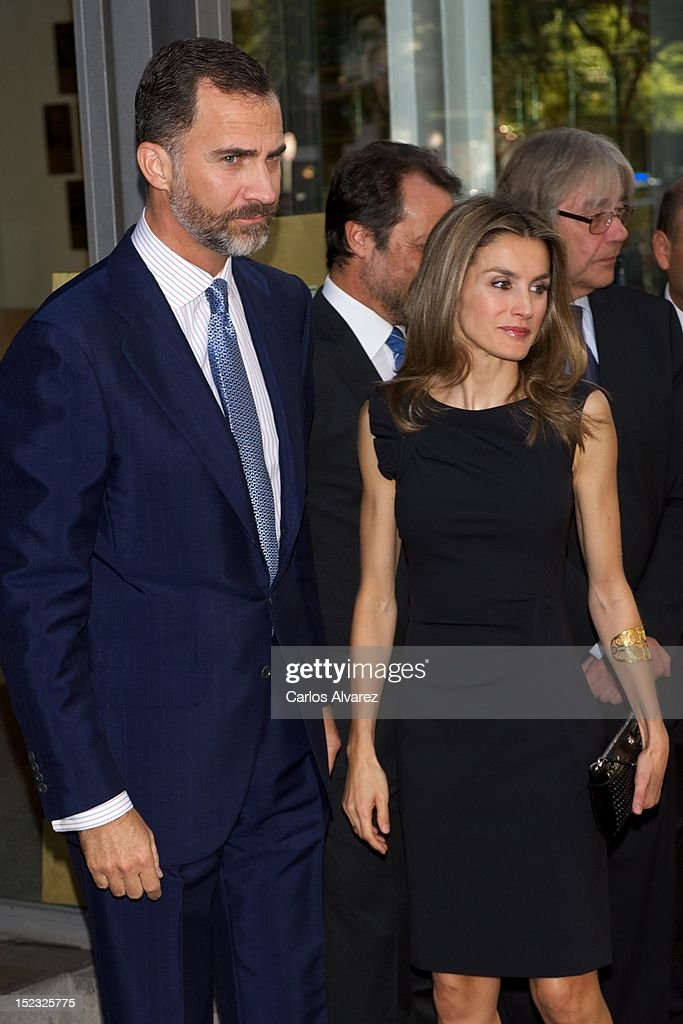 Spanish Royals attend 'Circulo de Lectores' 50th Anniversary Opening Ceremony : News Photo