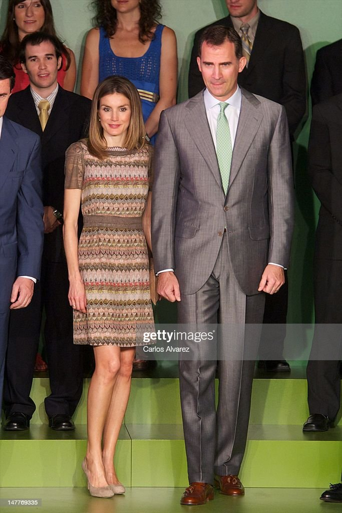 Spanish Royals Attend Iberdrola Foundation Scholarships 2012 : News Photo