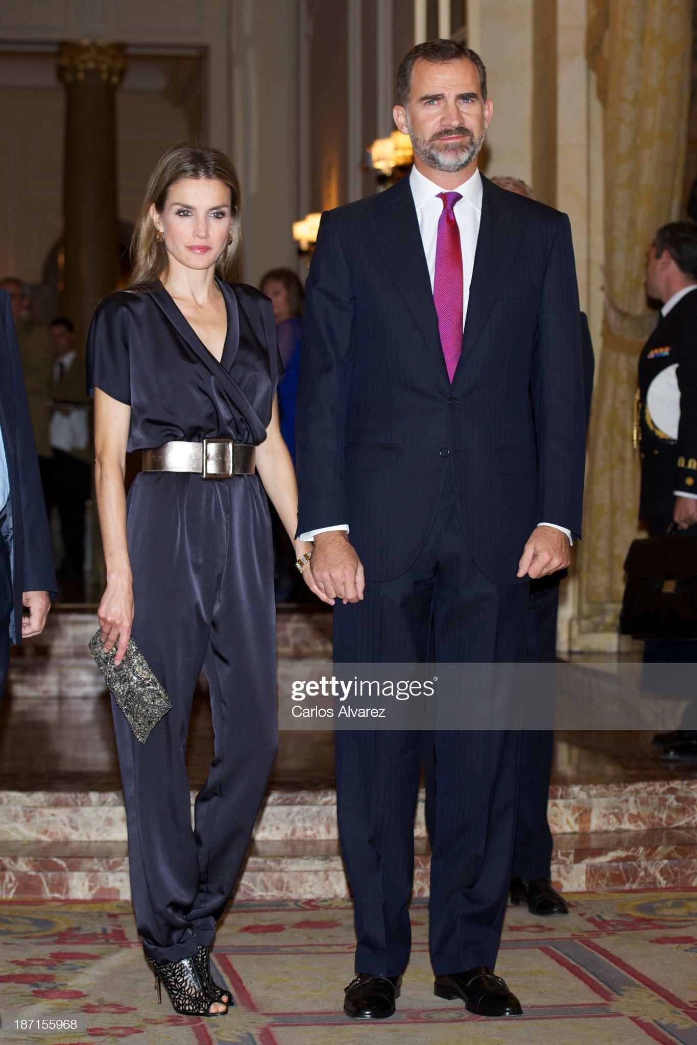 Spanish Royals Attend 'Francisco Cerecedo' Journalism Awards 2013 : News Photo