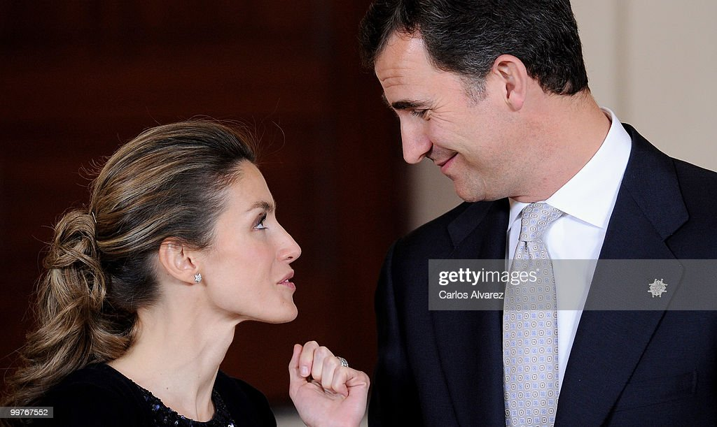 Prince Felipe of Spain and Princess Letizia of Spain attend 'VI European Union - Latin America and Caribbean Summit' dinner at the Royal Palace on May 17, 2010 in Madrid, Spain.