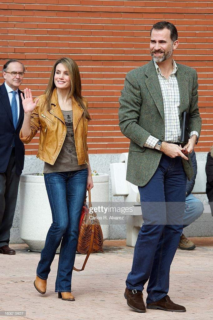 Spain's King to Undergo Back Hernia Operation : News Photo