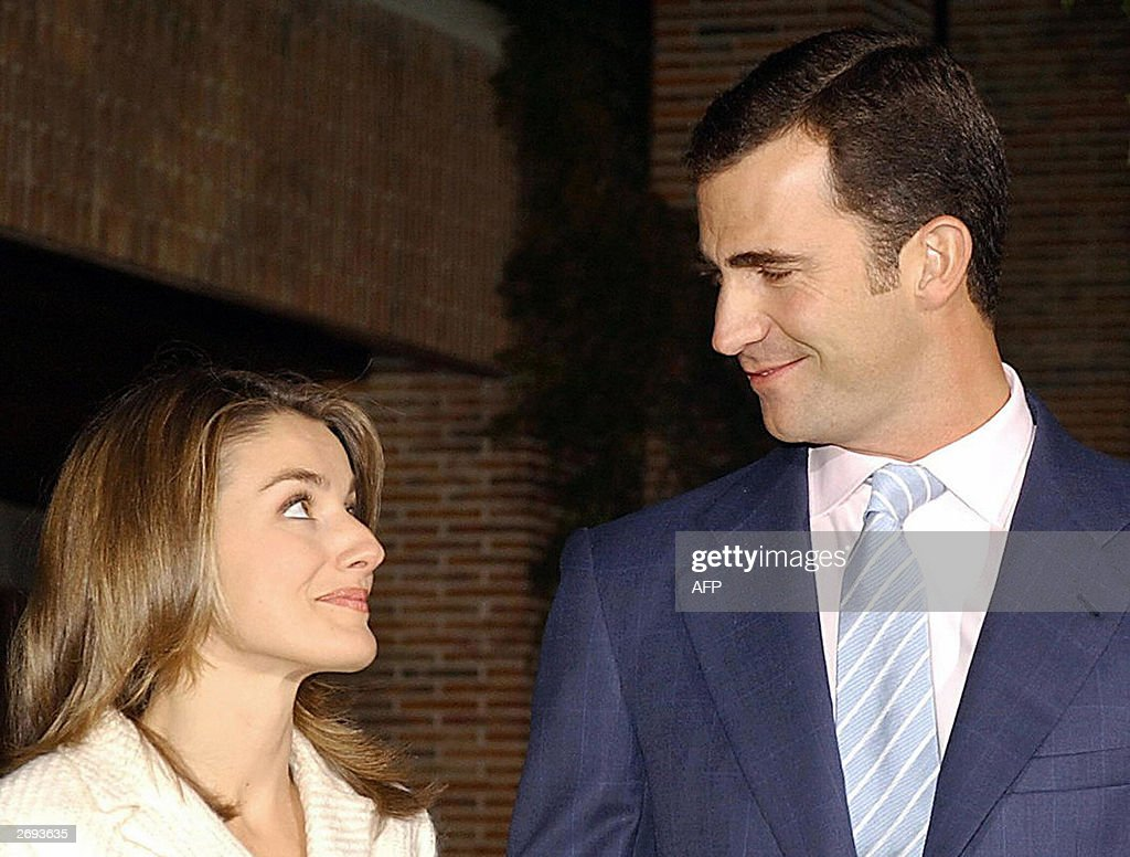 Prince Felipe of Spain poses with his fi : News Photo