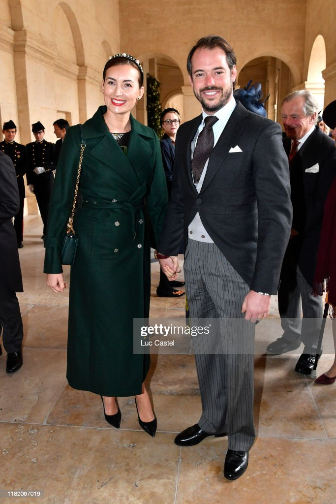 Wedding Of Prince Jean-Christophe Napoleon And Olympia Von Arco-Zinneberg At Les Invalides : News Photo