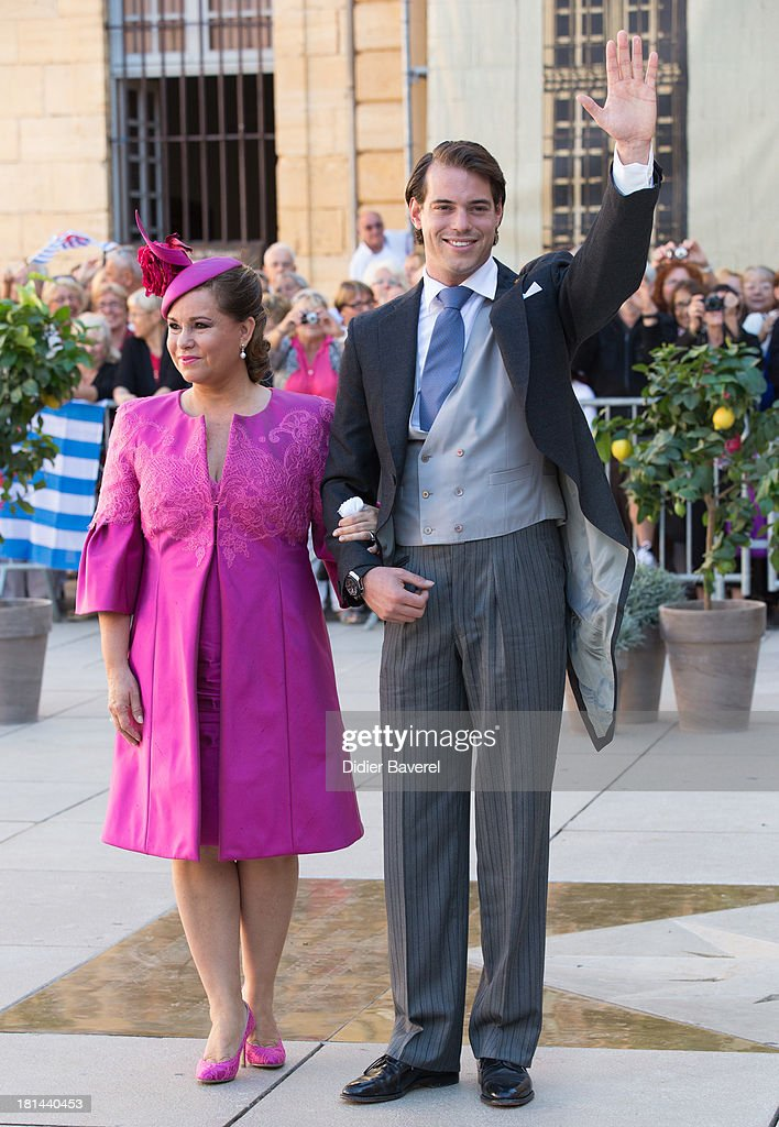 Religious Wedding Of Prince Felix Of Luxembourg & Claire Lademacher : ニュース写真