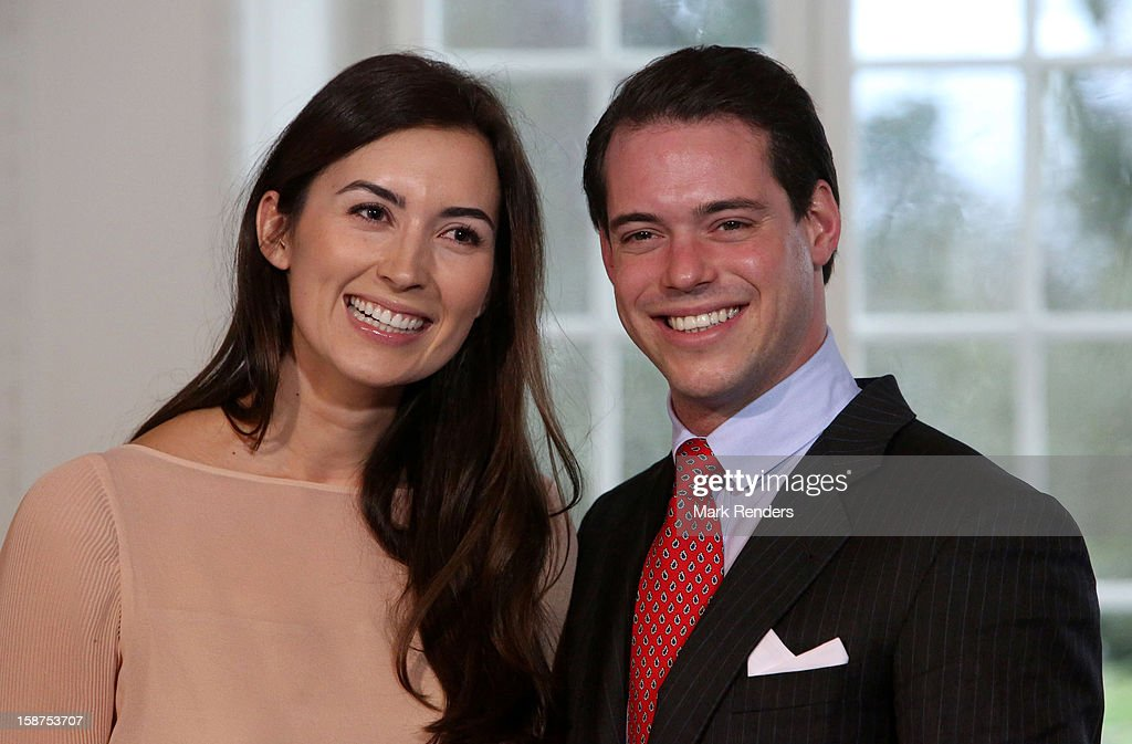 Prince Felix Of Luxembourg And Claire Lademacher Portrait Session : Nieuwsfoto's