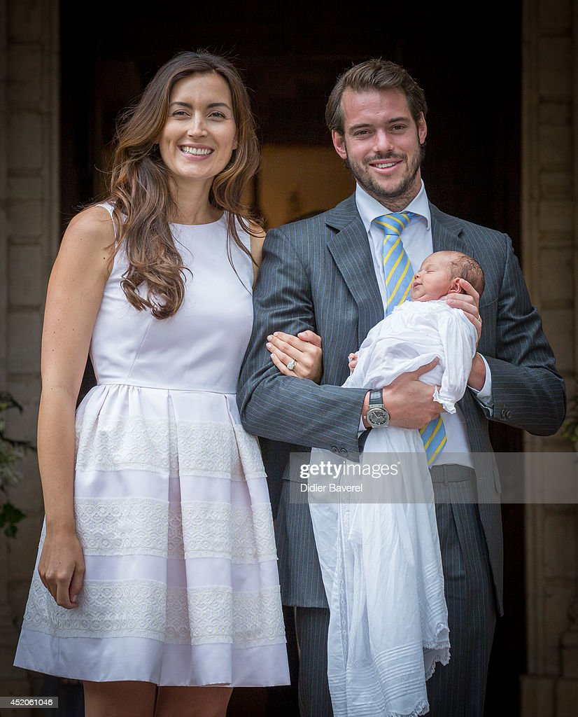 Christening Of Princess Amalia Of Luxembourg In Lorgues