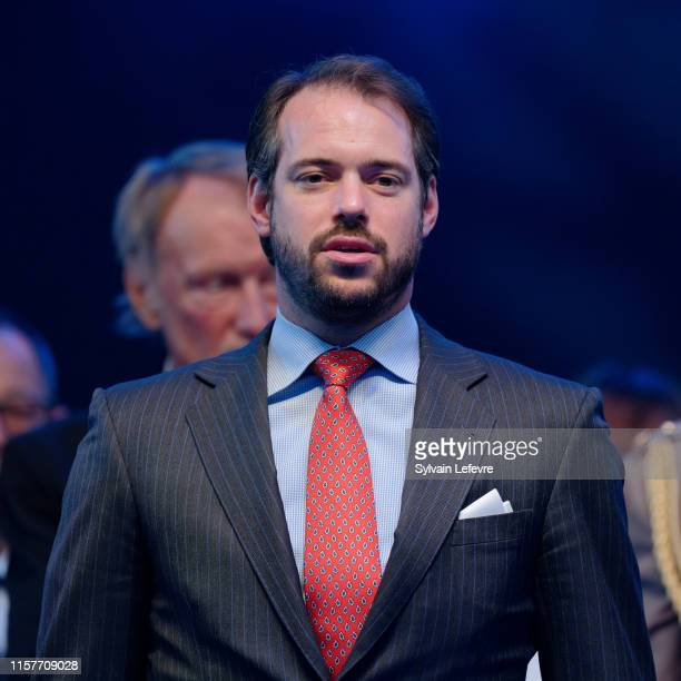 Prince Felix of Luxembourg celebrates National Day on June 22 2019 in Luxembourg Luxembourg