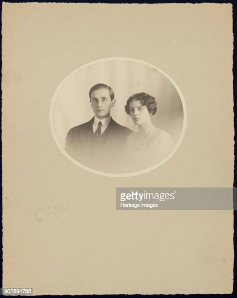 Prince Felix Yusupov, Count Sumarokov-Elston and his wife, Princess Irina Alexandrovna of Russia. Found in the Collection of State Museum...