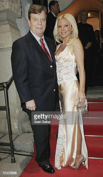 Prince Ferfried von Hohenzollern and Tatjana Gsell attend the Artists Against AIDS gala at the Theater des Westens November 6 2006 in Berlin Germany