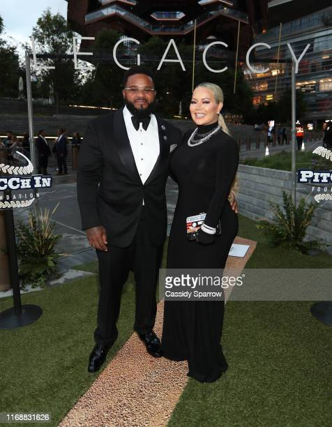Prince Fielder and Chanel Fielder attend The LegaCCy Gala at The Shed on September 16 2019 in New York City