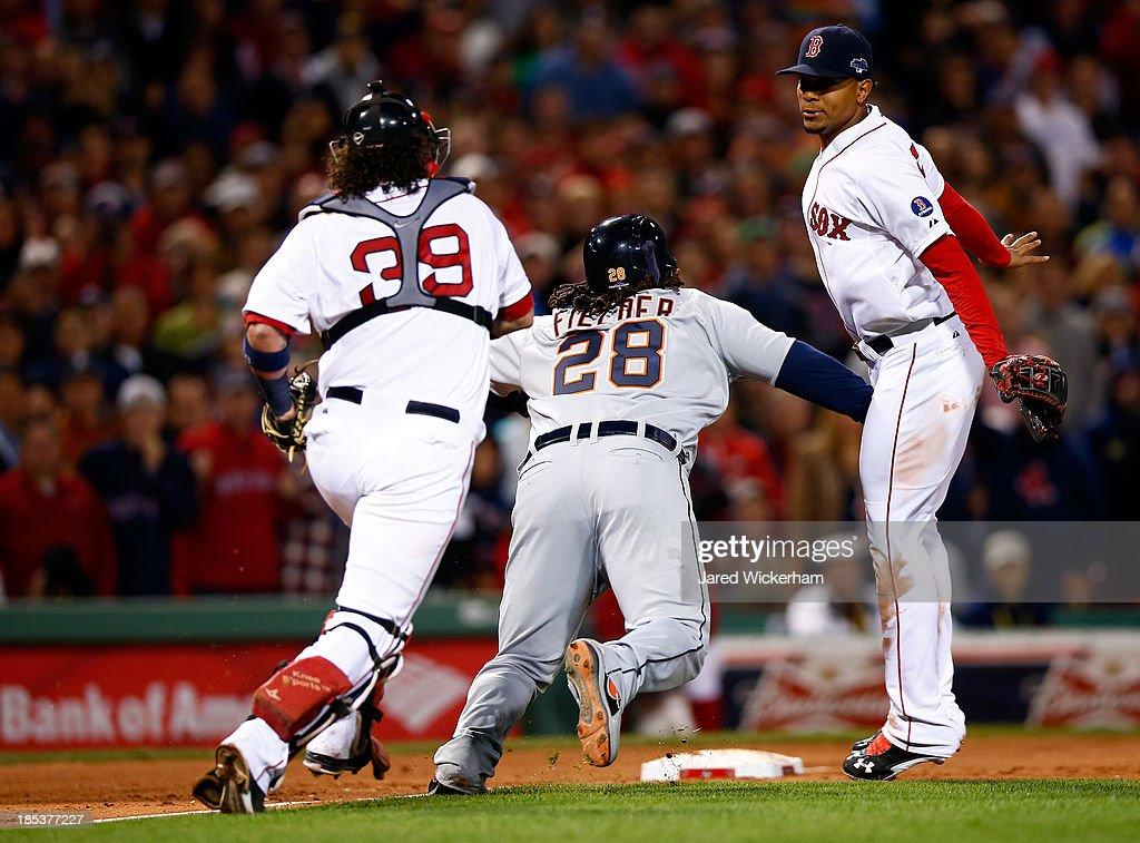 ALCS - Detroit Tigers v Boston Red Sox - Game Six