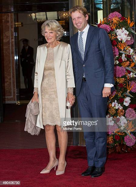 Prince Floris of The Netherlands and Princess Irene of The Netherlands arrive for festivities marking the final celebrations of 200 years Kingdom of...