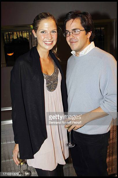 Prince Francois D'Orleans and Alix of Ligne at Every Journey Began In Africa Party For The Exhibition Africa Rising And The Discovery Of The...