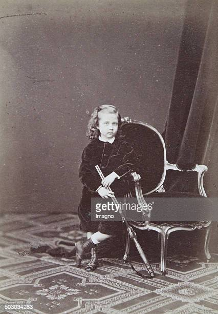 Prince Franz Ferdinand son of Archduke Karl Ludwig; Archduke - heir to the throne. About 1868. Photograph by Adèle. Vienna [Prater Street 18 Hotel de...