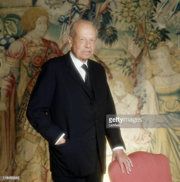Prince Franz Josef II of Liechtenstein Vaduz Castle Liechtenstein 7th February 1979