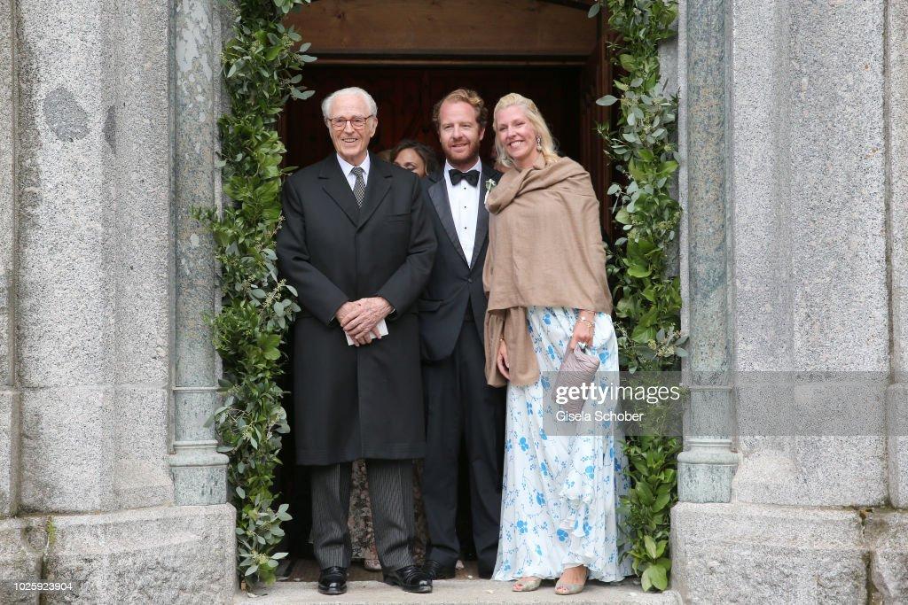Wedding Of Prince Konstantin Of Bavaria And Deniz Kaya : ニュース写真