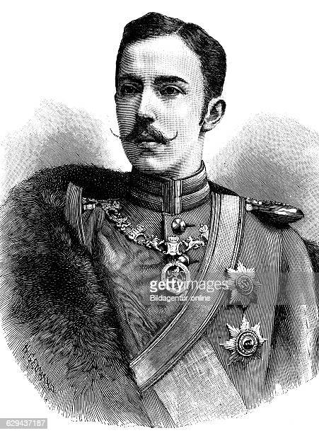 Prince frederick charles of hesse 1868 1940 king of finland historical illustration circa 1893