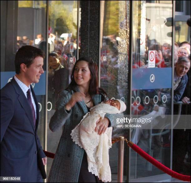 Prince Frederik and wife Princess mary of Denmark