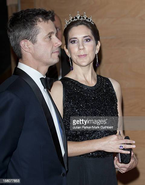 ** ** Prince Frederik Of Denmark And Princess Mary Of Denmark At A Gala Performance In The Dr Concert Hall To Celebrate 40 Years On The Throne Of...