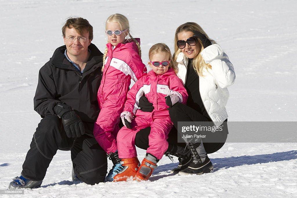 Dutch Royals On Winter Ski Holiday - Austria : News Photo