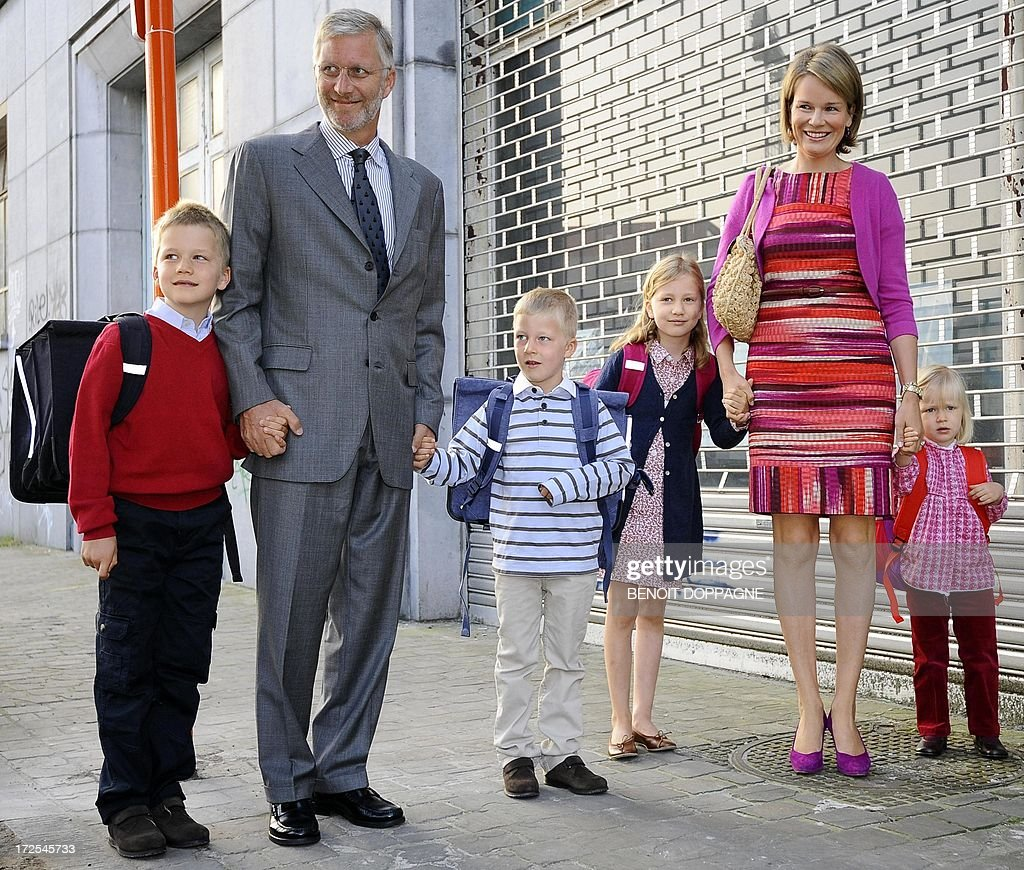 BELGIUM-ROYAL-SCHOOL : News Photo