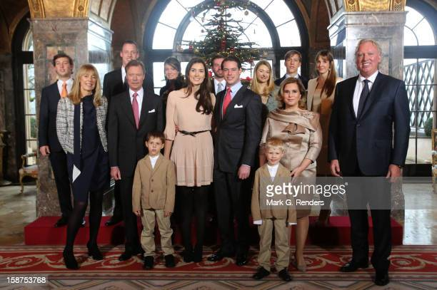 Prince Gabriel of Luxembourg Prince Noah of Luxembourg Mdme Lademacher Grand Duke Henri of Luxembourg Claire Lademacher Prince Felix of Luxembourg...