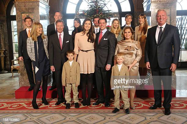 Prince Gabriel of Luxembourg Prince Noah of LuxembourgGabriele Lademacher Grand Duke Henri of Luxembourg Claire Lademacher Prince Felix of Luxembourg...