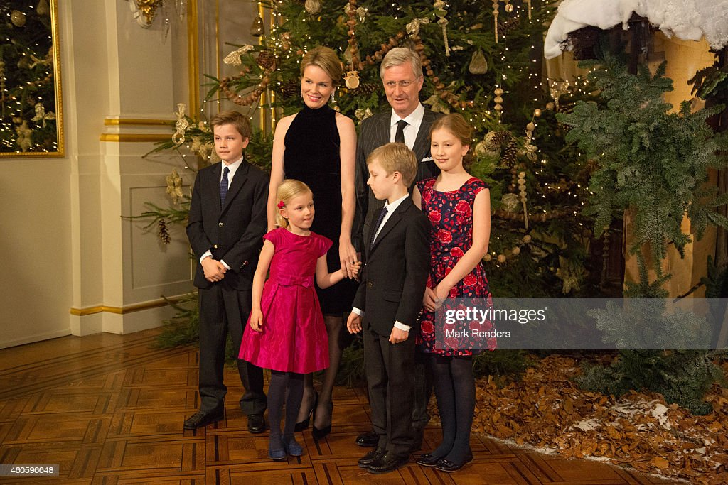 Belgian Royal Family Attends Christmas Concert At Royal Palace : News Photo