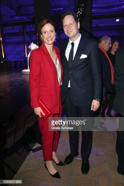 Prince Georg Friedrich von Preussen and his wife Princess Sophie von Preussen during the Tribute to Bambi 2018 charity gala benefit to Bambi hilft...