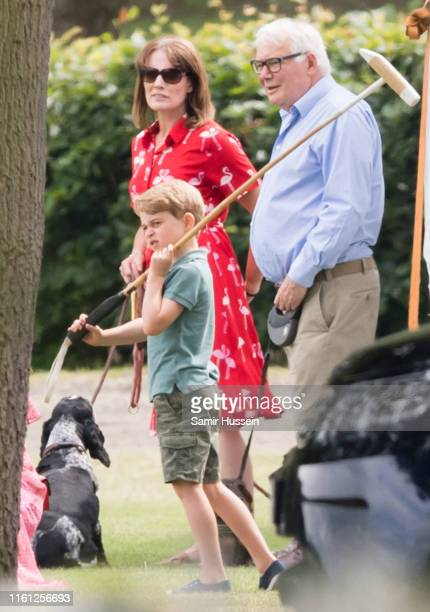 Prince George attends The King Power Royal Charity Polo Day at Billingbear Polo Club on July 10 2019 in Wokingham England