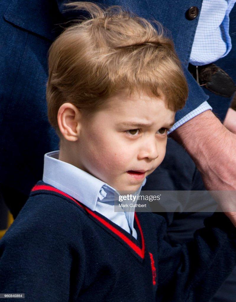 The Duke & Duchess Of Cambridge Welcome A Son