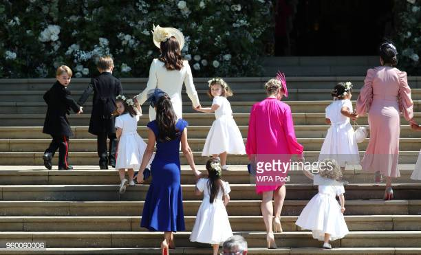 Prince George of Cambridge Jasper Dyer Princess Charlotte of Cambridge Catherine Duchess of Cambridge Jessica Mulroney Ivy Mulroney Florence van...