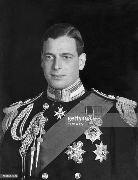 Prince George the Duke of Kent the fourth son of King George V circa 1935 He died when his plane crashed in Scotland during World War II