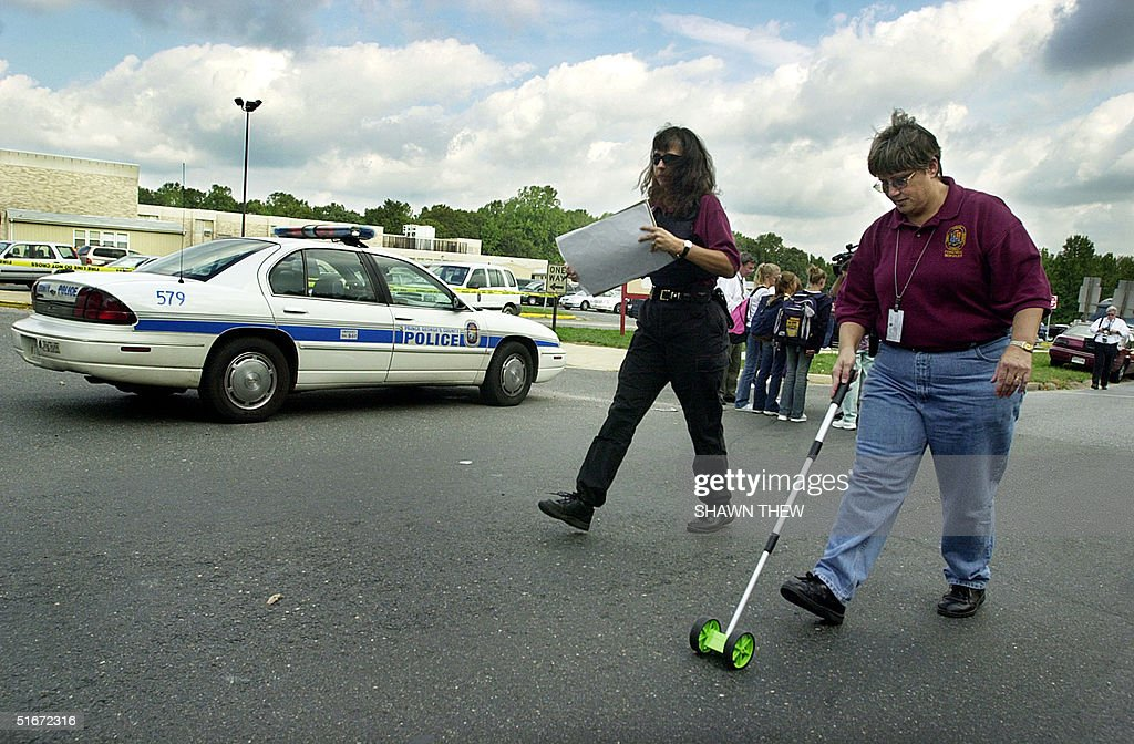 Prince George S County Forensic Science Officers Take Measurements On News Photo Getty Images